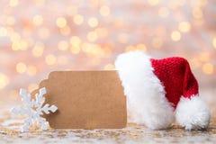 Abstract goud bokeh Kerstmis en de Nieuwe achtergrond van het jaarthema Stock Fotografie