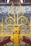 abstract goud in de englan antieke vloer van Londen Royalty-vrije Stock Foto's