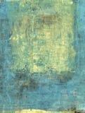 Abstract Goud en Blauw stock illustratie