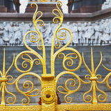 abstract goud op de englan antieke vloer en de achtergrond van Londen Stock Foto's