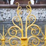 abstract goud op de englan antieke vloer en de achtergrond van Londen Royalty-vrije Stock Afbeeldingen