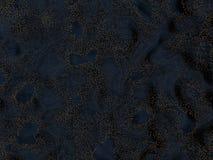 Abstract gouden deeltjesgebied Stock Afbeeldingen