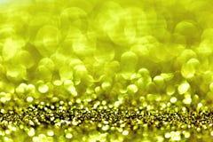 Abstract Gouden Licht Bokeh-Goud Als achtergrond Royalty-vrije Stock Foto