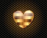 Abstract Gouden Logo Vector Stock Afbeelding