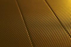 Abstract gouden metaal achtergrondtextuurpatroon Royalty-vrije Stock Afbeeldingen