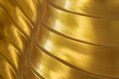 Abstract gouden ontwerp als achtergrond Stock Foto