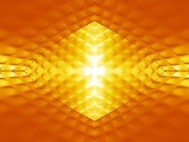 Abstract gouden patroon royalty-vrije illustratie
