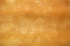 Abstract gouden patroon met bokehachtergrond Stock Afbeelding