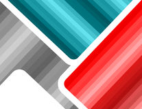 Abstract gradation futuristic multicolored template background. Gray, blue red colors Royalty Free Stock Images
