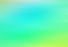 Abstract gradient background with blue and green colors.  stock illustration