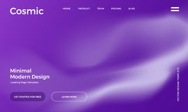 Vibrant gradient background. Abstract gradient background. Minimal modern design. Landing page template. Vector illustration. Eps10 stock illustration