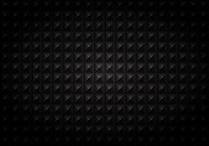 Abstract of gradient black square geometric pattern background vector illustration