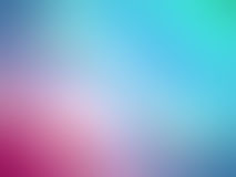 Abstract gradient blue pink colored blurred background Stock Image