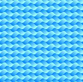 Abstract gradient blue wave line art pattern background. Vector illustration stock image