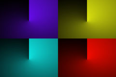 Abstract gradient color transition Stock Image