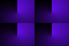 Abstract gradient color transition Stock Photography