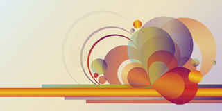 Abstract gradient figures Stock Photography