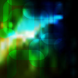 Abstract gradient geometric background Stock Photos