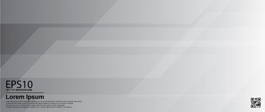Abstract gradient gray color background / Poster, banner template.  stock illustration