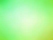 Abstract gradient green yellow colored blurred background Stock Photos