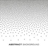 Abstract Gradient Halftone Dots Background Stock Photography