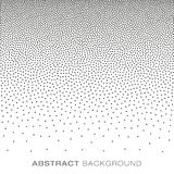 Abstract Gradient Halftone Dots Background Stock Photo