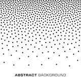 Abstract Gradient Halftone Dots Background Royalty Free Stock Images