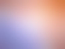 Abstract gradient orange purple colored blurred background.  Stock Image