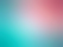 Abstract gradient pink teal colored blurred background.  Royalty Free Stock Images