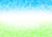 Abstract gradient pixel background Stock Images