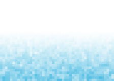 Abstract gradient pixel background royalty free illustration