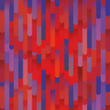Abstract gradient retro vector background with stripes in 3d. Colorful vibrant bright pattern. Royalty Free Stock Photography