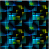 Abstract gradient seamless pattern. Stock Image