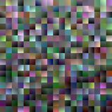Abstract gradient square background - modern mosaic vector design. From multicolored squares Stock Photography