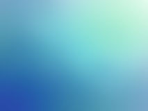 Abstract gradient turquoise white colored blurred background.  Royalty Free Stock Images