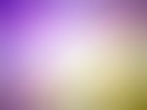 Abstract gradient yellow purple colored blurred background.  Royalty Free Stock Image