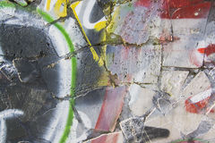 Abstract Graffiti background. Art collection Royalty Free Stock Images