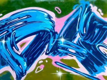 Abstract graffiti Stock Photos