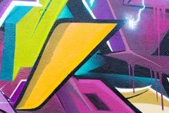 Abstract graffiti fragment Stock Photo