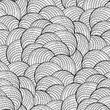 Abstract grafisch zeeschelpenpatroon Royalty-vrije Stock Foto