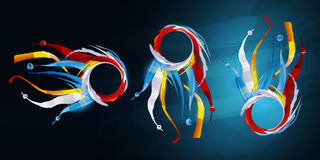 Abstract graphic royalty free illustration
