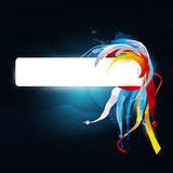 Abstract  graphic. Bright background in graffiti Royalty Free Stock Photo