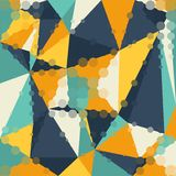 Abstract graphic background of polygon triangle Stock Photos