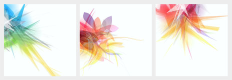 Abstract graphic background. For your design work Stock Illustration