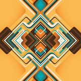 Abstract graphic. Royalty Free Stock Photography