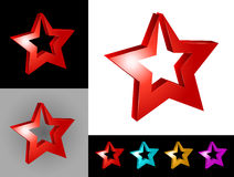 Abstract graphic design. Of 3d icon or symbol Stock Photos