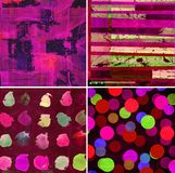 Abstract graphic design background Royalty Free Stock Photography