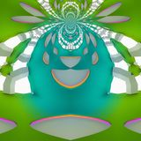 Lovely design in future . The Illusion draw. Abstract  Graphic design.  The emotional digital art stock photography