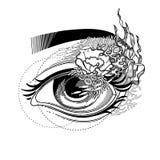 Abstract graphic eye Stock Photos
