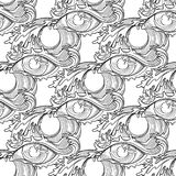 Abstract graphic eye Stock Photo